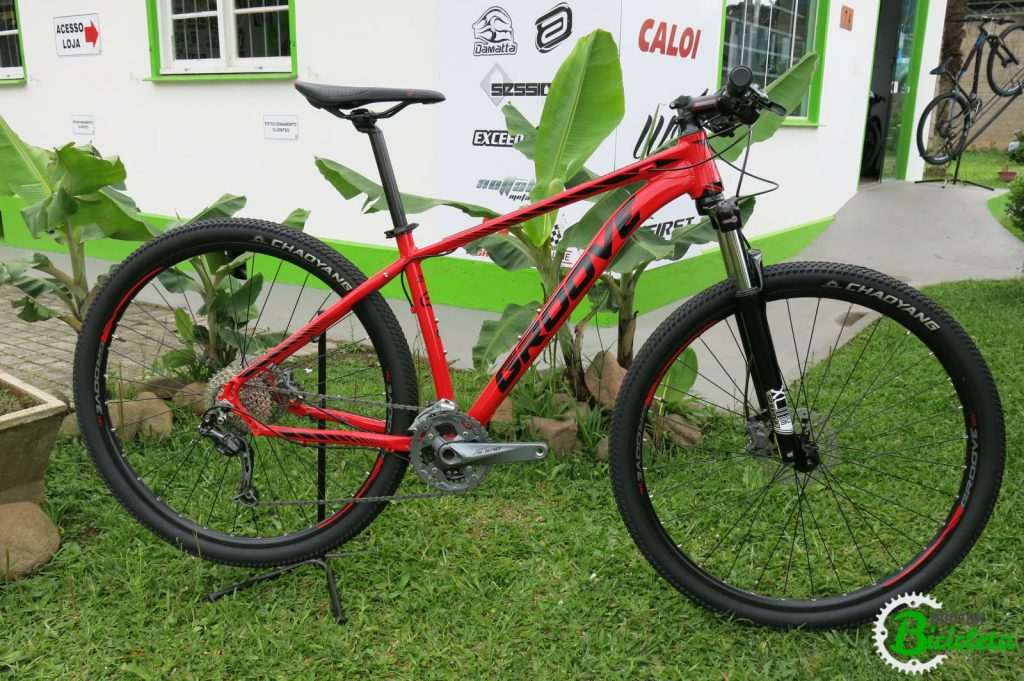 592225334 A Groove Bikes foi lançada em 2013 e é montada no estado de São Paulo pela  Cairu PMA