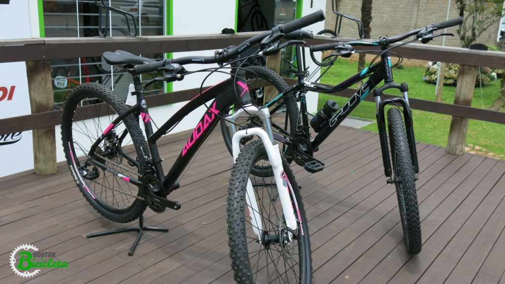 Modelos de Mountain Bikes de entrada femininas.