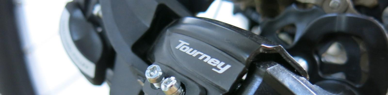 Detalhe Shimano Tourney