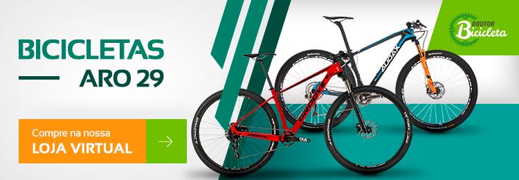 fd042f9fb5 As bicicletas de roda aro 29″ são ideais para trilhas mais abertas,  cicloturismo e passeio de estrada, pois proporcionam um rendimento maior à  pedalada, ...