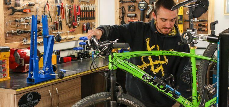 Oficina de bike: o consultório da sua bike