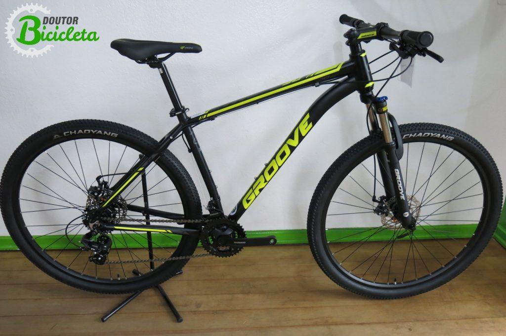 Bicicleta de entrada para Mountain Bike Groove Hype 30