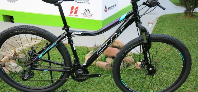 Conheça a bicicleta Feminina Groove Zouk Lady