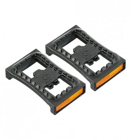 Plataforma adaptável para pedal clip