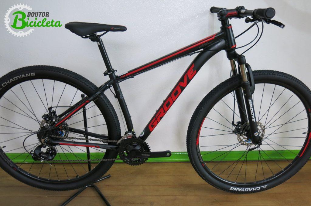Bicicleta de entrada para Mountain Bike Groove Hype 50
