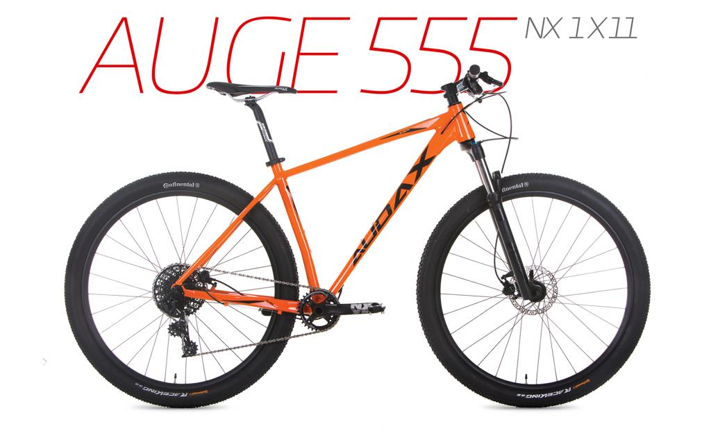 Bicicleta da linha de competição Audax Auge 555