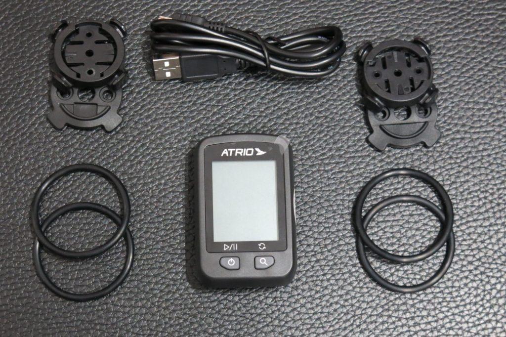 Itens que acompanham o GPS Atrio Iron
