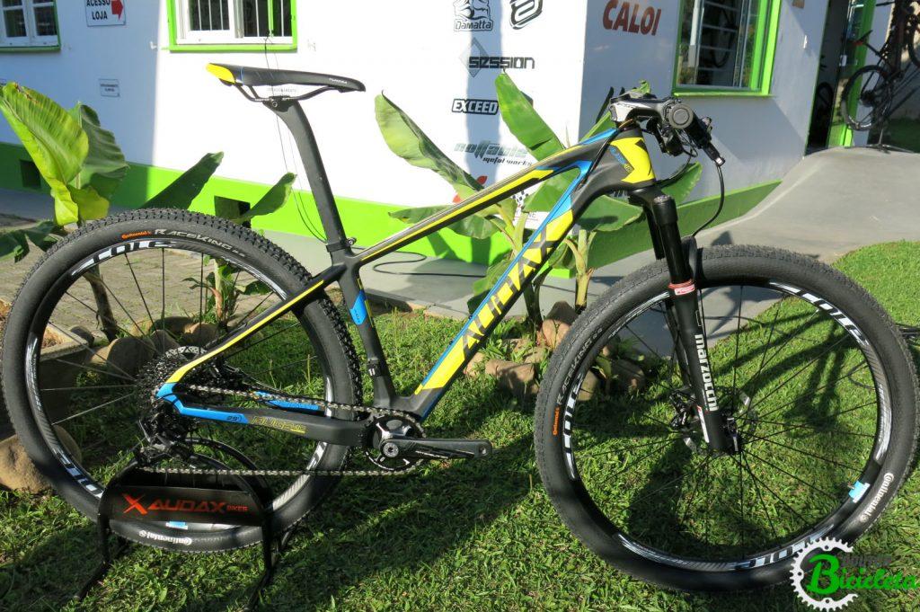 Bicicleta Audax Auge 40 Carbon.