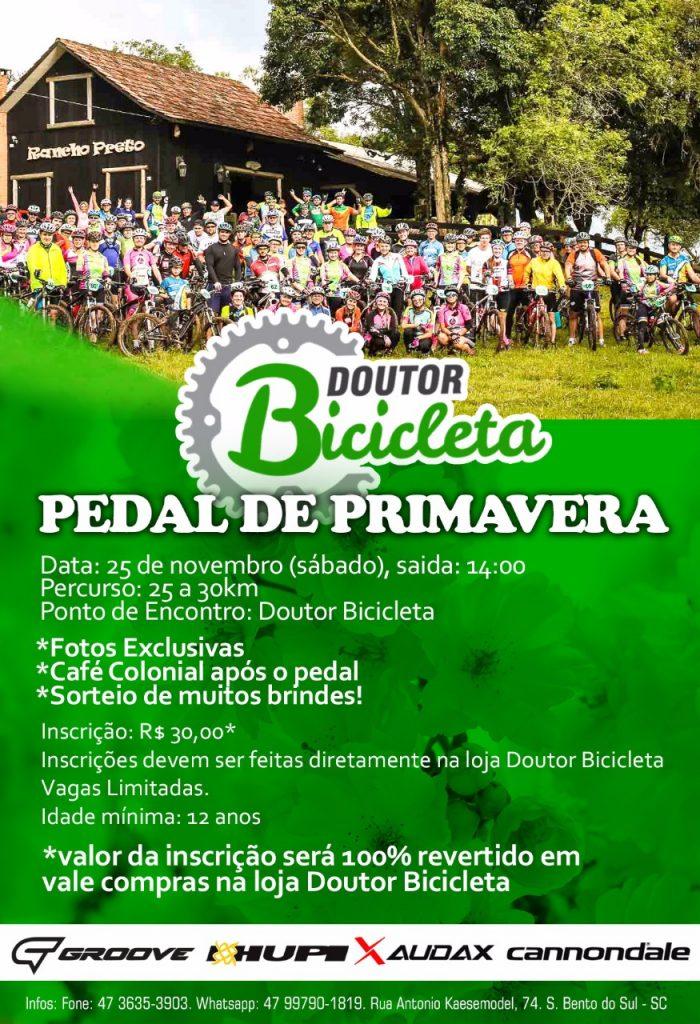 Banner do Pedal de Primavera da Doutor Bicicleta